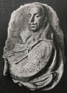 Mariano Benlliure, Altorrelieve con la efigie del rey Alfonso XIII para el Medallón del Tribunal Supremo de Justicia, 1926. Archivo Fundación Mariano Benlliure