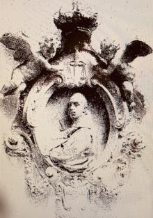 Mariano Benlliure, Medallón del Tribunal Supremo de Justicia, 1926. Archivo Fundación Mariano Benlliure