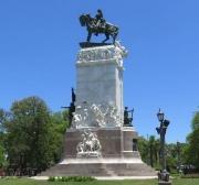 Agustín Querol y Mariano Benlliure, monumento al general Urquiza. Paraná, Argentina. Foto TripAdvisor