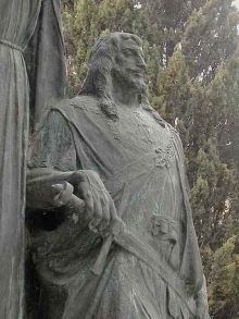 Mariano Benlliure, Tristán, Mausoleo del Tenor Francisco Viñas © Fundación Mariano Benlliure