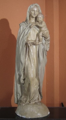 Virgen del Carmen en 2003 @ Fundación Mariano Benlliure