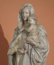 Detalle de la Virgen del Carmen en 2003 @ Fundación Mariano Benlliure
