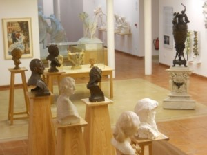 Galería de retratos-Casa estudio