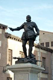 Estatua Álvaro de Bazán