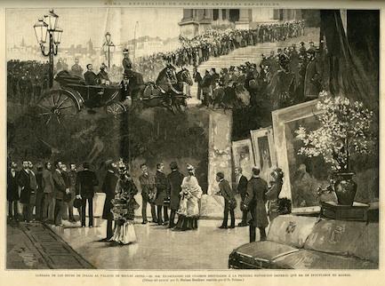 Exposición en Palacio de Bellas Artes en Roma