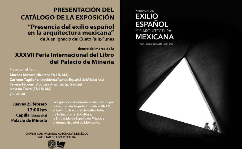 Presencia del exilio español en la arquitectura mexicana